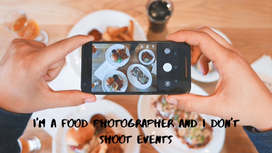 A Food photographer
