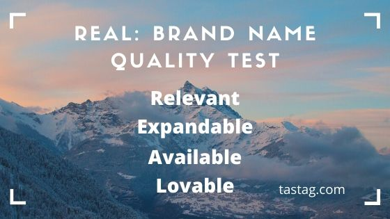 REAL: Brand Name Quality Test